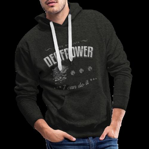 Deafpower - Männer Premium Hoodie