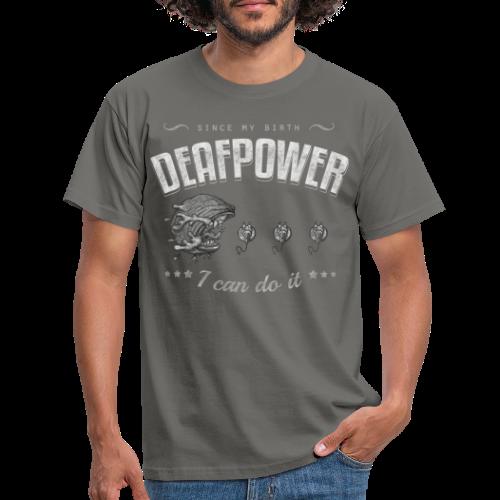 Deafpower - Männer T-Shirt