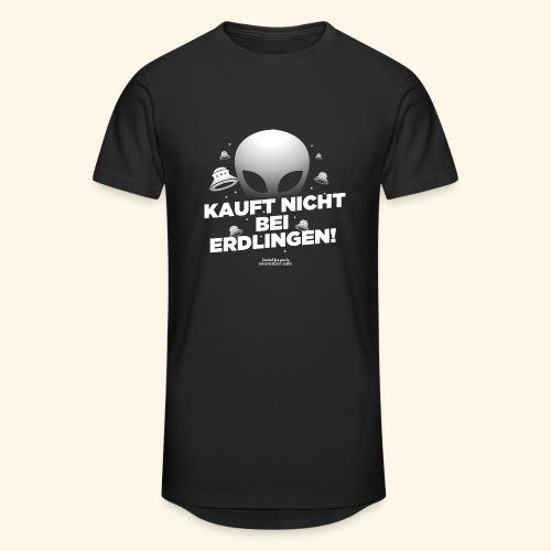 Geek T Shirt Kauft nicht bei Erdlingen - Geschenkidee - Männer Urban Longshirt