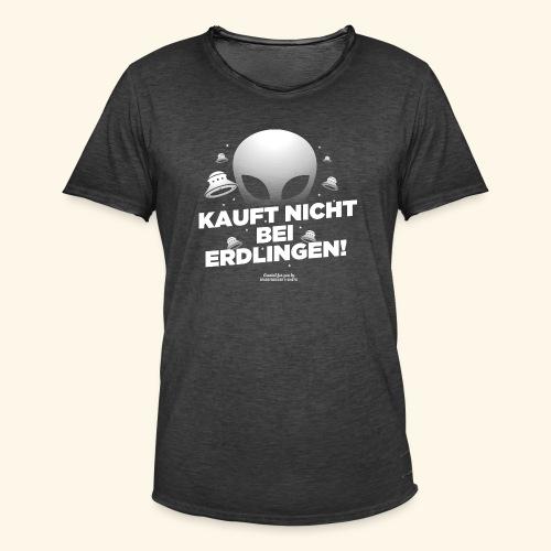 Geek T Shirt Kauft nicht bei Erdlingen - Geschenkidee - Männer Vintage T-Shirt
