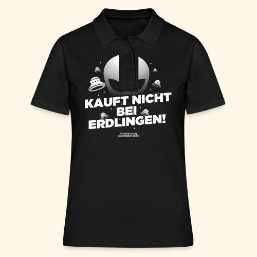 Geek T Shirt Kauft nicht bei Erdlingen - Geschenkidee - Frauen Polo Shirt
