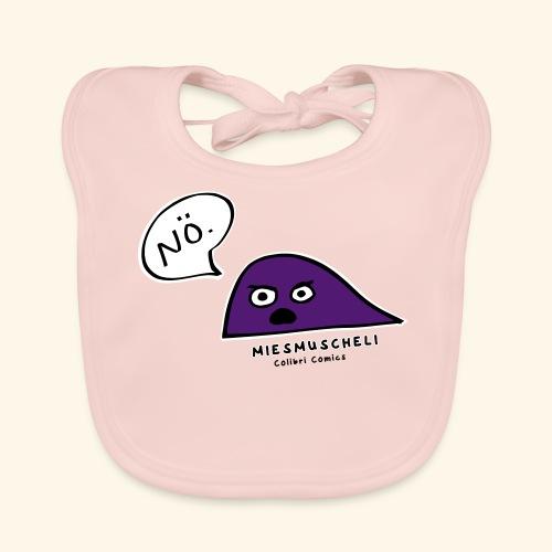 Miesmuscheli sagt NÖ! - Baby Bio-Lätzchen