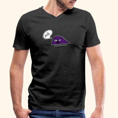 Miesmuscheli sagt NÖ! - Männer Bio-T-Shirt mit V-Ausschnitt von Stanley & Stella