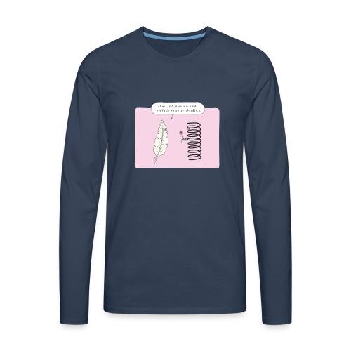 Federn - Männer Premium Langarmshirt