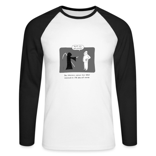 Der Tod - Männer Baseballshirt langarm