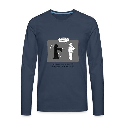 Der Tod - Männer Premium Langarmshirt