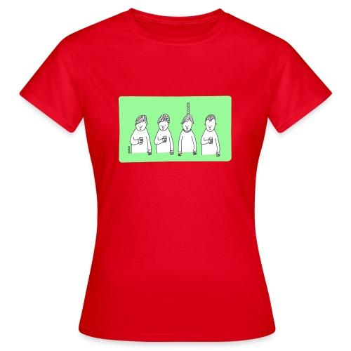 Handy (mit Text) - Frauen T-Shirt