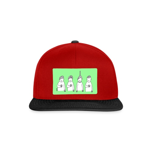 Handy (mit Text) - Snapback Cap