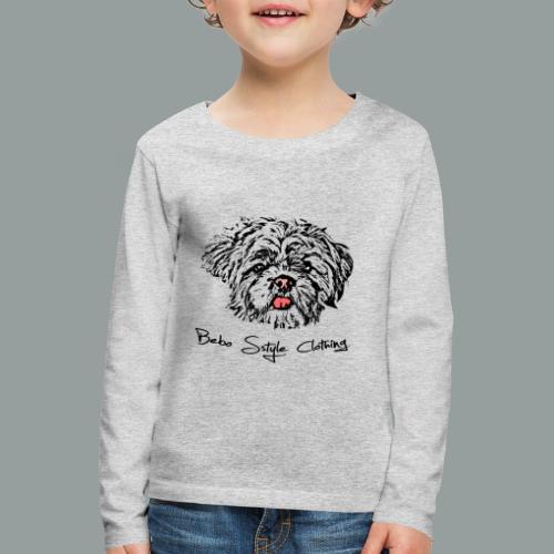 Shih Tzu - Kinder Premium Langarmshirt