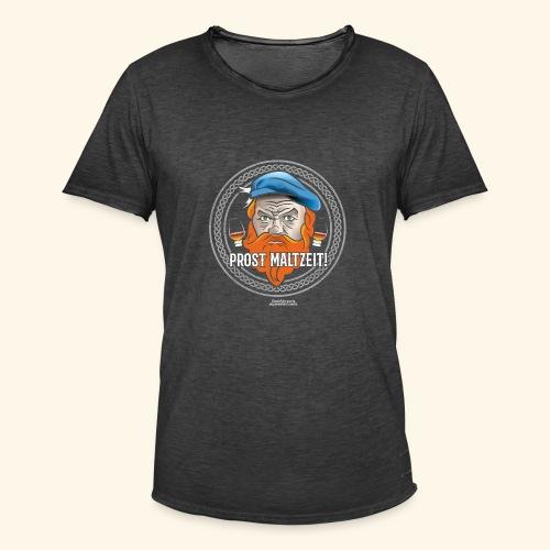 Whisky T Shirt Prost Maltzeit - Männer Vintage T-Shirt
