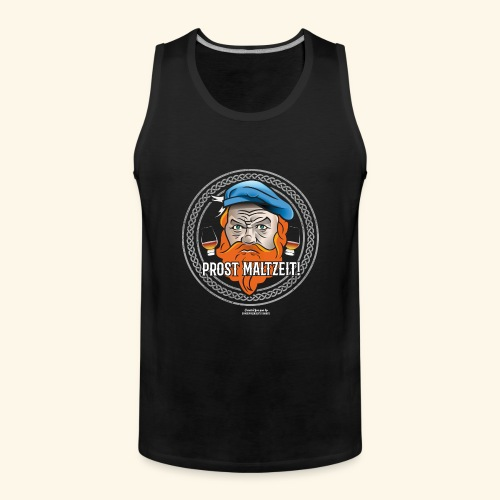 Whisky T Shirt Prost Maltzeit - Männer Premium Tank Top