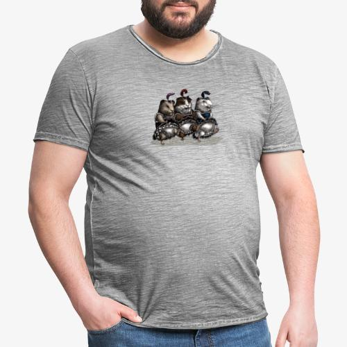 Guinea Pig Can-can - Men's Vintage T-Shirt
