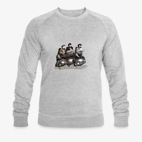 Guinea Pig Can-can - Men's Organic Sweatshirt by Stanley & Stella