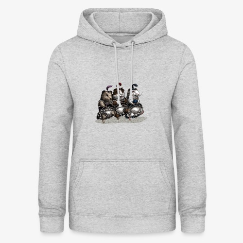 Guinea Pig Can-can - Women's Hoodie