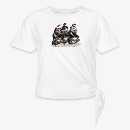 Guinea Pig Can-can - Knotted T-Shirt