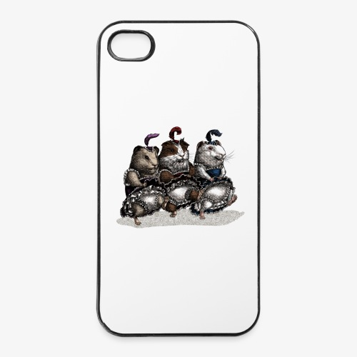 Guinea Pig Can-can - iPhone 4/4s Hard Case