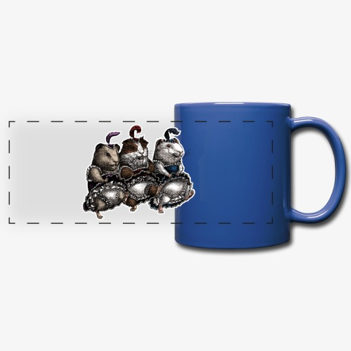 Guinea Pig Can-can - Full Color Panoramic Mug