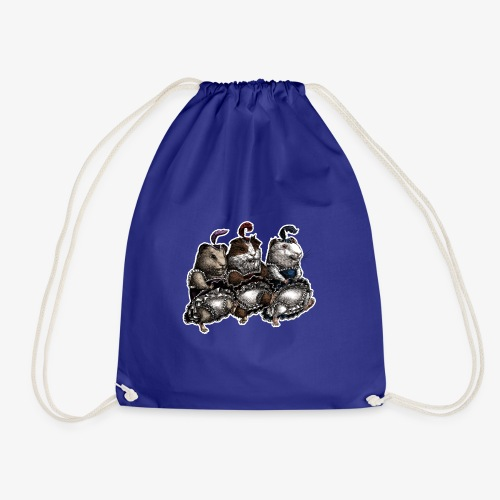 Guinea Pig Can-can - Drawstring Bag