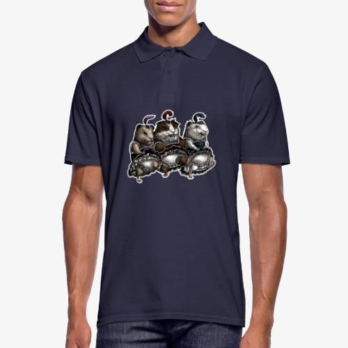 Guinea Pig Can-can - Men's Polo Shirt