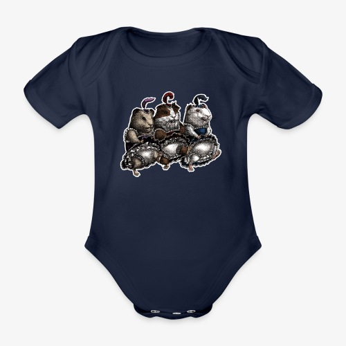 Guinea Pig Can-can - Organic Short-sleeved Baby Bodysuit