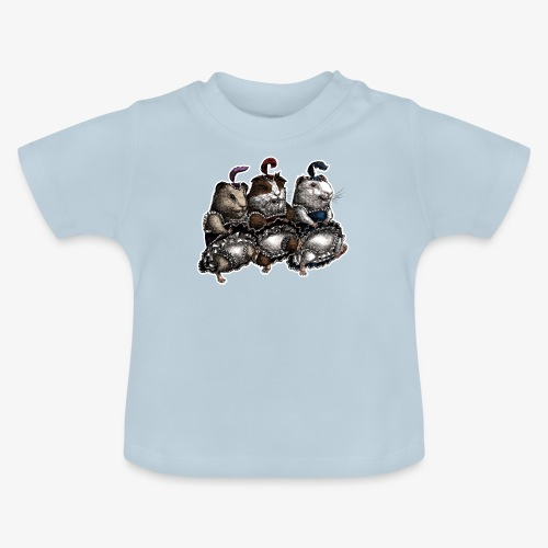 Guinea Pig Can-can - Baby T-Shirt