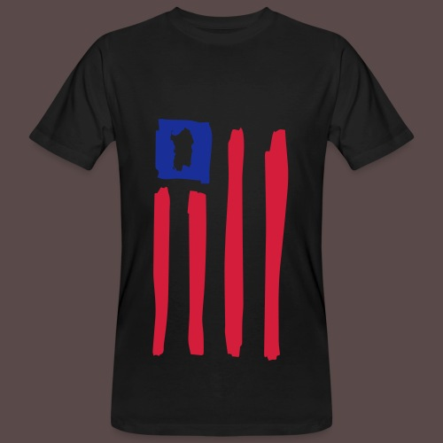 United States of Sardinia - T-shirt ecologica da uomo