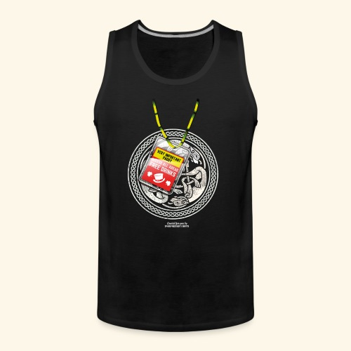 St. Patrick's Day T Shirt Very Important Paddy - Männer Premium Tank Top