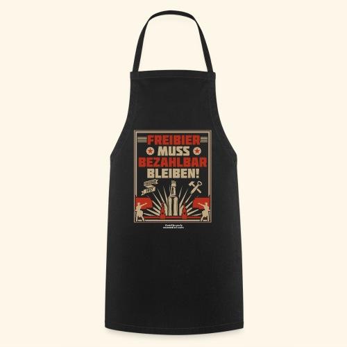 Bier T Shirt Freibier | Geschenkidee Biertrinker - Kochschürze