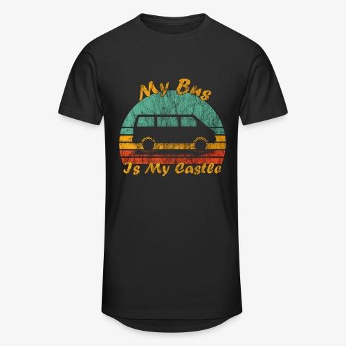 My Bus Is My Castle (Washed) - Männer Urban Longshirt