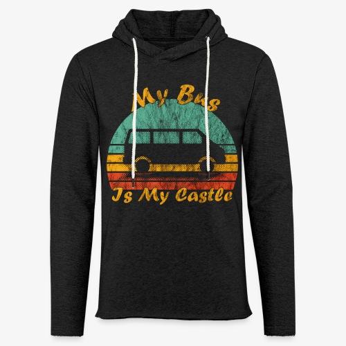 My Bus Is My Castle (Washed) - Leichtes Kapuzensweatshirt Unisex