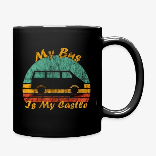 My Bus Is My Castle (Washed) - Tasse einfarbig