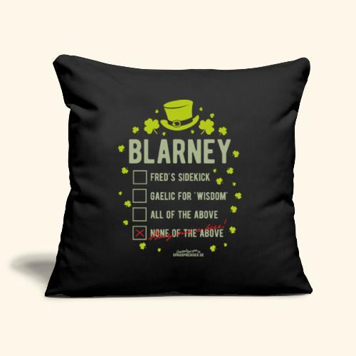 St. Patrick's Day T Shirt Blarney Pub quiz - Sofakissenbezug 44 x 44 cm