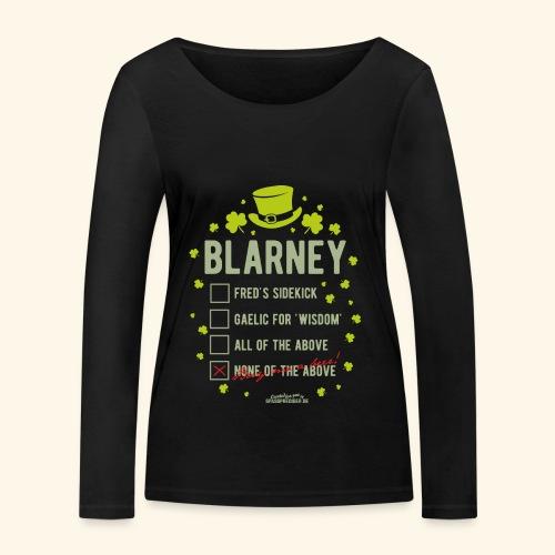 St. Patrick's Day T Shirt Blarney Pub quiz - Frauen Bio-Langarmshirt von Stanley & Stella