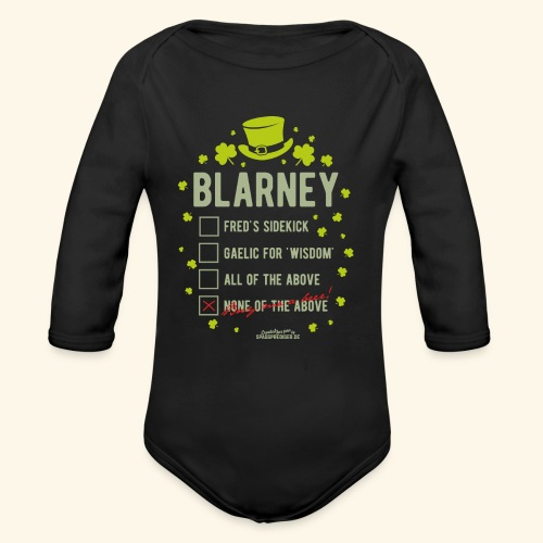 St. Patrick's Day T Shirt Blarney Pub quiz - Baby Bio-Langarm-Body