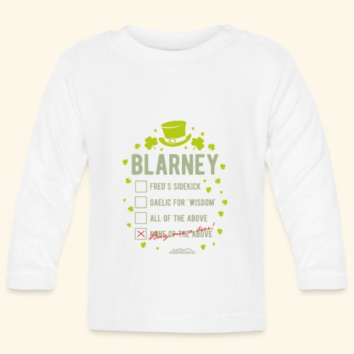 St. Patrick's Day T Shirt Blarney Pub quiz - Baby Langarmshirt