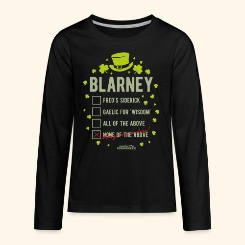 St. Patrick's Day T Shirt Blarney Pub quiz - Teenager Premium Langarmshirt