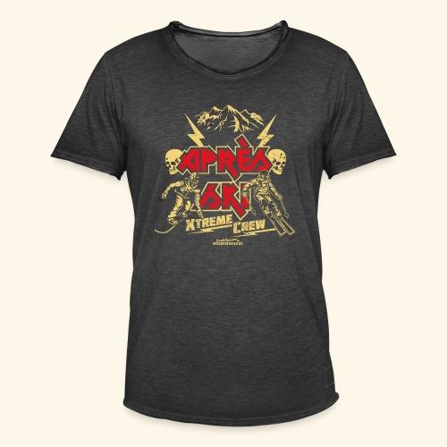 Apres Ski T Shirt Apres Ski Xtreme Crew - Männer Vintage T-Shirt