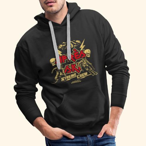 Apres Ski T Shirt Apres Ski Xtreme Crew - Männer Premium Hoodie
