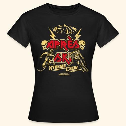 Apres Ski T Shirt Apres Ski Xtreme Crew - Frauen T-Shirt