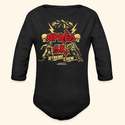 Apres Ski T Shirt Apres Ski Xtreme Crew - Baby Bio-Langarm-Body