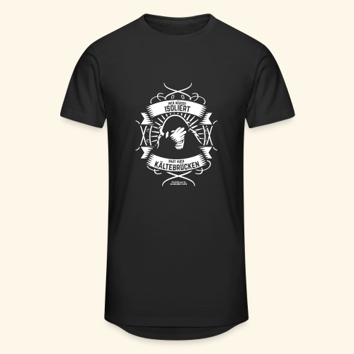 Bauingenieur T Shirt Wärmedämmung | Spruch - Männer Urban Longshirt