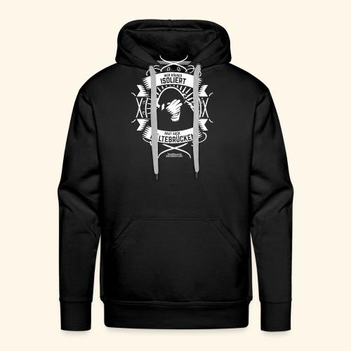 Bauingenieur T Shirt Wärmedämmung | Spruch - Männer Premium Hoodie