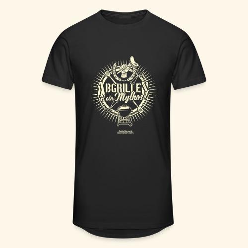 Grill T Shirt Abgrillen ist ein Mythos | Ganzjahresgriller - Männer Urban Longshirt