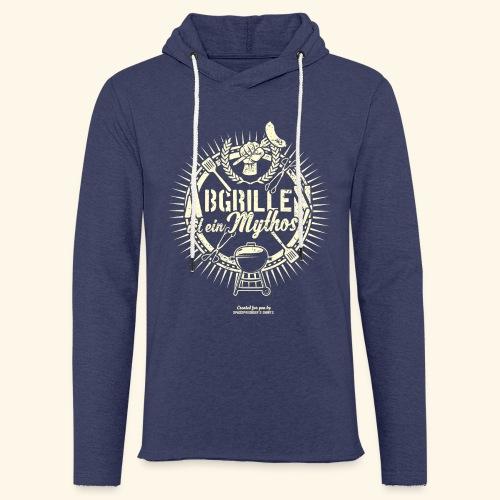 Grill T Shirt Abgrillen ist ein Mythos | Ganzjahresgriller - Leichtes Kapuzensweatshirt Unisex