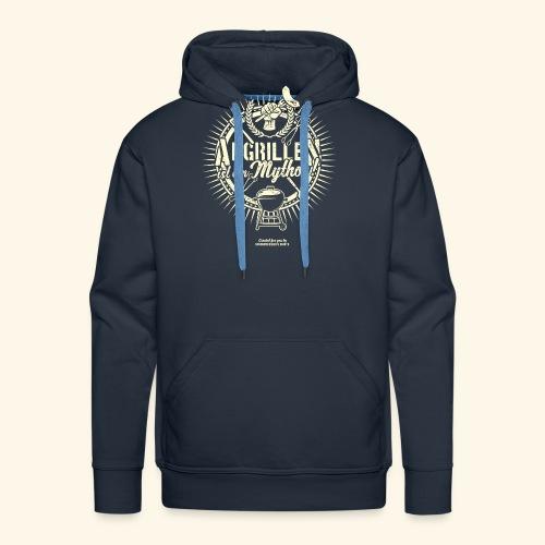 Grill T Shirt Abgrillen ist ein Mythos | Ganzjahresgriller - Männer Premium Hoodie