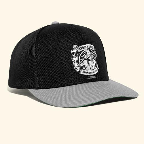 Bier T Shirt Avoid Alcohol Drink Beer Instead | witziger Spruch - Snapback Cap