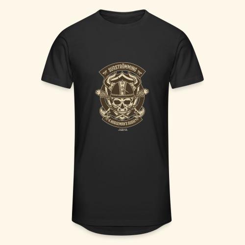 Surströmming T Shirt Norseman's Sushi T-Shirts - Männer Urban Longshirt