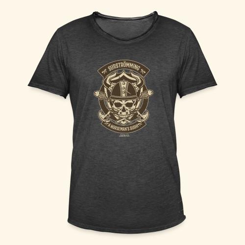Surströmming T Shirt Norseman's Sushi T-Shirts - Männer Vintage T-Shirt