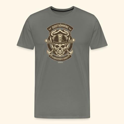 Surströmming T Shirt Norseman's Sushi T-Shirts - Männer Premium T-Shirt