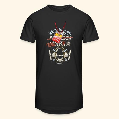 Apres Ski T Shirt  Team Whisky - Männer Urban Longshirt